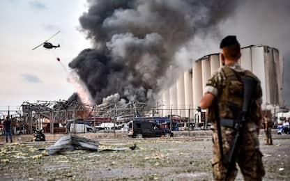 Esplosioni Beirut, ferito anche un militare italiano