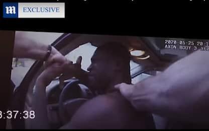 """""""Non spararmi, agente, per favore"""", nuovo video fermo di George Floyd"""