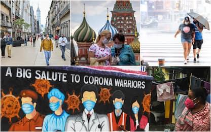 Coronavirus, da India a Russia: i 10 Paesi con più contagi in 24 ore