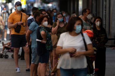 Coronavirus Spagna: 4.507 nuovi casi, Madrid la più colpita