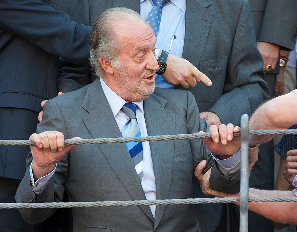 Re Juan Carlos alla corrida