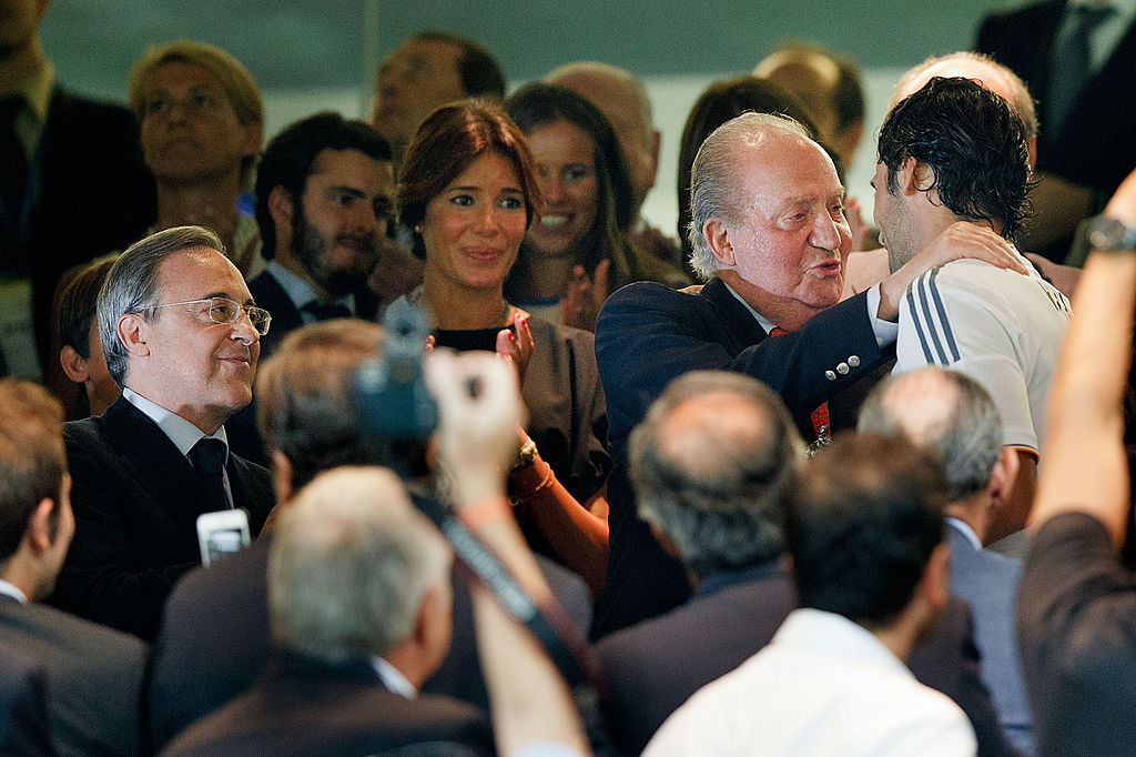 Juan Carlos sarebbe ora ad Abu Dhabi