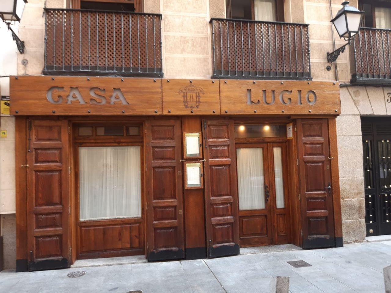Il ristorante Casa Lucio, Madrid
