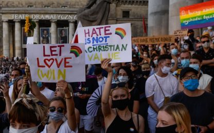 Proteste Lgbti in Polonia, arrestato un italiano