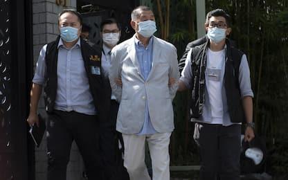Hong Kong, arrestato il magnate Jimmy Lai per nuova legge su sicurezza