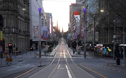 Coronavirus, a Melbourne è di nuovo in vigore il lockdown. FOTO