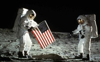 Apollo 11, Apollo 11, Apollo 11, Apollo 11, Szene   Am 20. Juli 1969 landete das amerikanische Raumschiff Apollo 11 auf dem Mond. *** Local Caption *** 1996