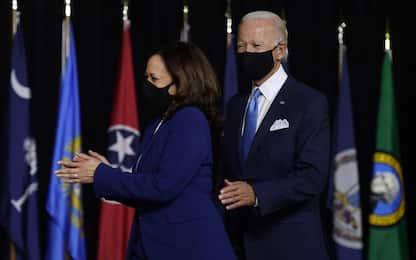 """Usa 2020, esordio per Biden e Harris: """"Trump semina odio e divisioni"""""""
