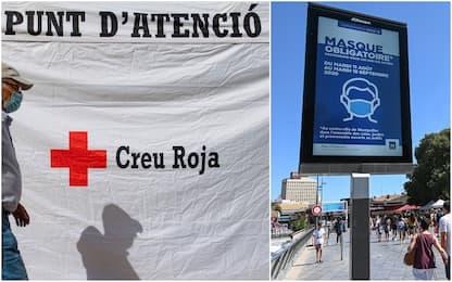 Coronavirus: in Spagna quasi 3mila casi giornalieri, 2.846 in Francia
