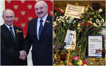 """Bielorussia, Lukashenko: """"Putin mi ha assicurato il suo aiuto"""""""