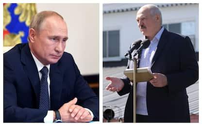 La Bielorussia in piazza e la Germania contro Putin