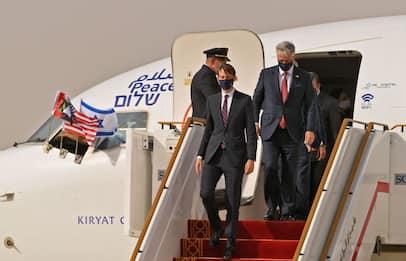 Primo storico volo diretto tra Israele ed Emirati Arabi uniti