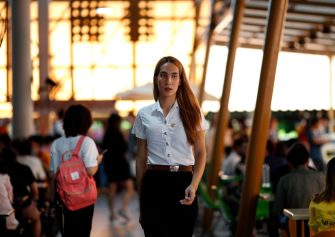 epa08645095 A Thai transgender student Siwakorn Thatsanasorn wearing female university student uniform walks at a canteen during a lunch break at Thammasat University Rangsit Campus in Pathum Thani province, Thailand, 24 August 2020 (issued 04 September 2020). Outdated regulations at most schools and universities in Thailand mean many transgender people are forced to wear a uniform in class that does not match their gender identity. Since June, Thammasat University has removed those regulations, allowing 20 year-old Siwakorn 'Buzzy' Thatsanasorn to wear the outfit of her choice at school. But Siwakorn says that transgenders in primary and secondary schools are still not allowed to choose gender-appropriate school uniforms.  EPA/RUNGROJ YONGRIT  ATTENTION: This Image is part of a PHOTO SET