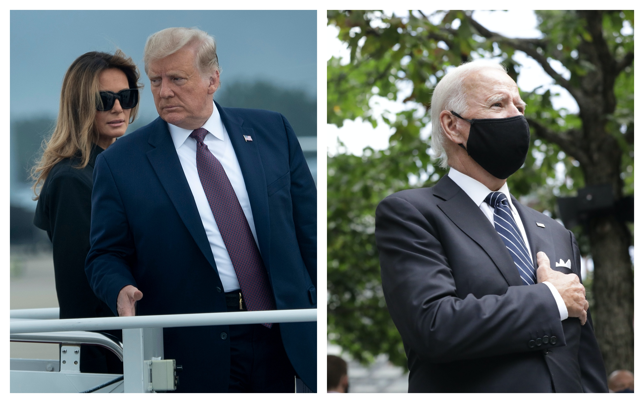 Trump, Biden 11 settembre