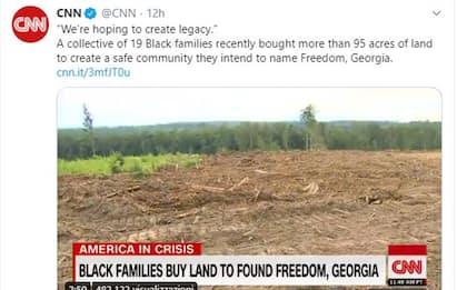 Georgia, afroamericani comprano terra per costruire una città sicura