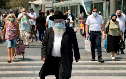 Covid, in Israele boom di nuovi contagi: oltre 10mila casi in 24 ore