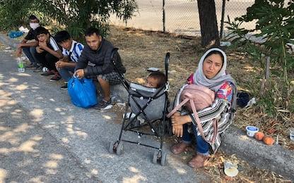 Grecia, tra i profughi del campo di Moria a Lesbo FOTO