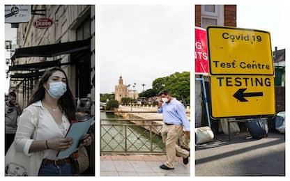 Covid, nuove misure restrittive in Europa da Madrid alla Gran Bretagna