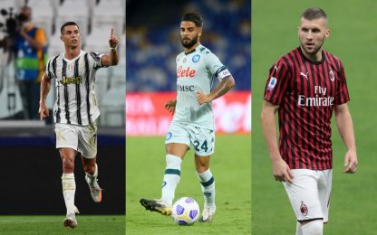 Serie A, le probabili formazioni della prima giornata. FOTO