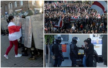 Bielorussia, migliaia in piazza: oltre 120 arresti nelle proteste