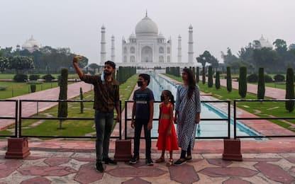 Coronavirus, in India riapre il Taj Mahal. FOTO