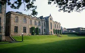 A general view of St Andrews University  which is Scotland's first university and the third oldest in the English speaking world, Fife, Scotland, June 1997. (Photo By RDImages/Epics/Getty Images)
