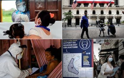 Coronavirus, i Paesi con più casi in 24 ore: Francia quarta al mondo