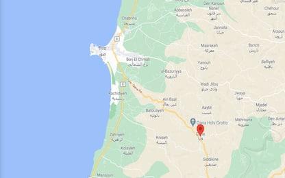 Libano, forte esplosione in un edificio di Hezbollah