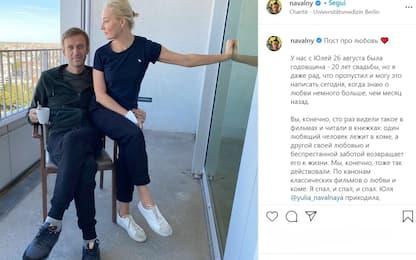 """Navalny scrive alla moglie: """"Mi hai salvato dal coma"""""""