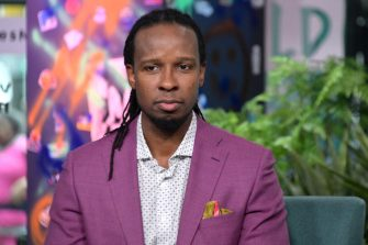 NEW YORK, NEW YORK - MARCH 10: Ibram X. Kendi visits Build to discuss the book Stamped: Racism, Antiracism and You at Build Studio on March 10, 2020 in New York City. (Photo by Michael Loccisano/Getty Images)