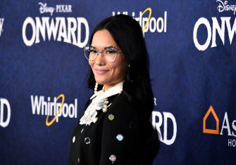"""HOLLYWOOD, CALIFORNIA - FEBRUARY 18: Ali Wong attends the  Premiere Of Disney And Pixar's """"Onward"""" on February 18, 2020 in Hollywood, California. (Photo by Frazer Harrison/Getty Images)"""