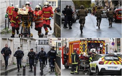 Parigi, attacco vicino ex sede Charlie Hebdo. FOTO
