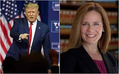 Usa, Trump ha scelto la giudice Amy Coney Barrett per la Corte Suprema