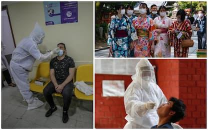 Coronavirus nel mondo: i casi e i morti di oggi nei Paesi più colpiti