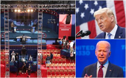 Usa 2020, cresce l'attesa per il primo dibattito fra Trump e Biden