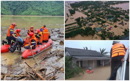 Vietnam, inondazioni e frane nel Centro del Paese: almeno 90 morti