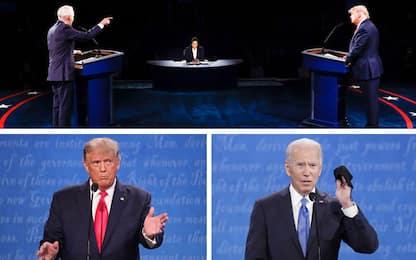 Trump Biden, l'ultimo dibattito tra i candidati alle Elezioni USA