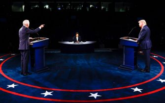 USA ELECTIONS PRESIDENTIAL DEBATE
