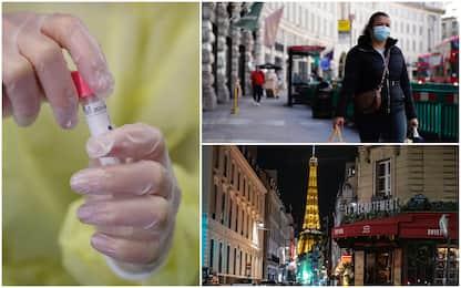 Coronavirus, 10 Paesi con più casi in 24h: Francia e Uk nei primi 5