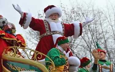 Macy's Santa Claus  HERO