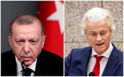 "Erdogan querela Wilders che replica via Twitter: ""Perdente!"""