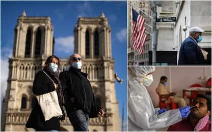 Coronavirus, i 10 Paesi con più casi in 24 ore: Francia terza