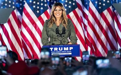 Elezioni Usa 2020, Melania Trump attacca Biden in comizio Pennsylvania
