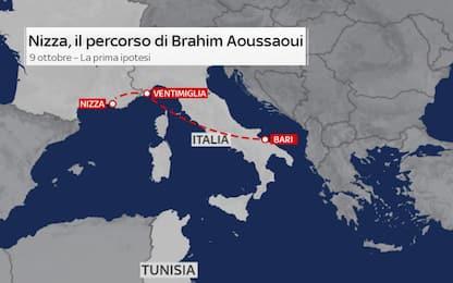 Attentato Nizza, gli spostamenti del killer sbarcato a Lampedusa