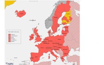 Le valutazioni dei Paesi sul rischio Covid in Italia