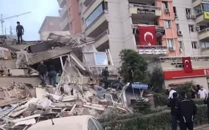 Forte terremoto tra Grecia e Turchia, scossa di magnitudo 7.0