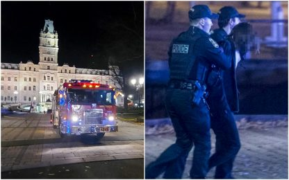 Quebec, uccide due persone con una spada medievale: arrestato