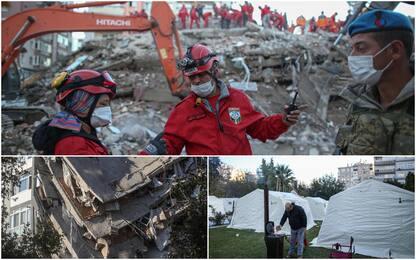 Terremoto nell'Egeo, in Turchia 64 morti e oltre 900 feriti