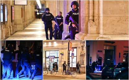 Attentato a Vienna, sparatorie in diverse zone: 5 morti, feriti. FOTO
