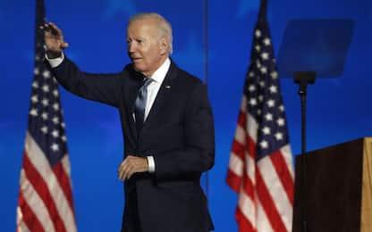 """Elezioni Usa, il discorso di Biden: """"Sulla strada per la vittoria"""""""